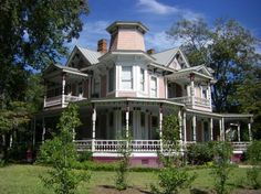 Vickers-Carson House in Tifton, Georgia was built in 1892.