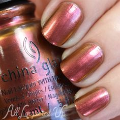 """AllLacqueredUp - China Glaze Fall 2015 – The Great Outdoors Swatches and Review - Love this color! """"China Glaze Cabin Fever"""""""