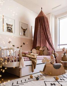 Kids Bedroom Designs, Baby Room Design, Baby Room Decor, Room Color Schemes, Room Colors, Oliver Furniture, Forest Bedroom, Baby Must Haves, Home 21