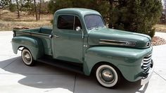 1948 Ford F1 Pickup Flathead, 3-Speed