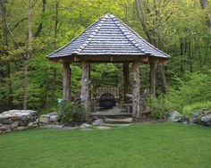Wants one of these down by the creek.  Porch Chairs For Garden Design, Pictures, Remodel, Decor and Ideas - page 13