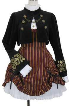 Love Putumayo. Love this set. This would be great for Steampunk. - Something like this for a Steampunk outfit. Closest Ive seen to the idea I came up with 20 years ago... before I even heard of Steampunk.