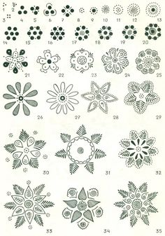 ROZETA ROSETTE (SIX-POINTED STAR) Patterns of Europe Poland Easter Eggs Slavic Design Wzornictwo Lubelszczyzny na pisankach