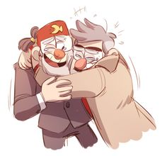 Brothers | granule Stan & Grunkle Ford | Gravity Falls