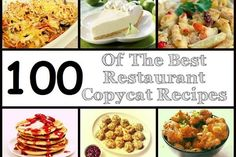 You love to eat out? Making your taste buds enjoy every bite with dishes from the Cheesecake Factory, KFC, Olive Garden and so on? If time or money doesn't allow you to go out and eat every day in your favorite restaurants, here is a nice alternative: copy the delicious recipes and make them in …