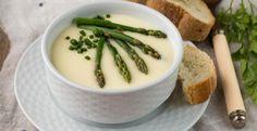 Excellente pour la santé...la crème d'asperge facile - Recettes - Ma Fourchette