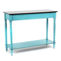 Turquoise Console Table #kirklands #outoftheblue