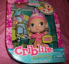 Hasbro Crib Life Lily Sweet Born Awesome Doll and Accessories | eBay