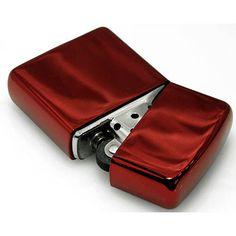 JZD -Japan Zippo Direct- - Armor Zippo Lighter NEO RED Coating