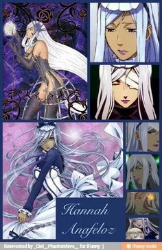 Second most desirable cartoon character in my opinion! Hannah Anafeloz from Black Butler Black Butler Hannah, Black Butler 2, Sebaciel, Black Butler Kuroshitsuji, Cartoon Characters, Manga, Anime Guys, Creepy, Fangirl