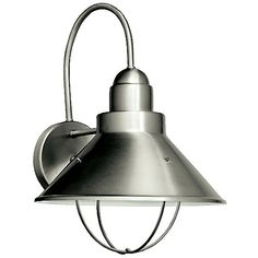 Seaside Indoor/Outdoor Wall Sconce by Kichler at Lumens.com $85