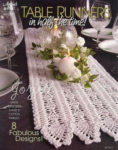 Make a Simple Table Runner | Easy Table crochet Runner pattern | THIS ITEM IS ... | Crochet Patte ...