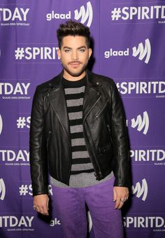 Adam Lambert Photos - Adam Lambert at Justin Tranter And GLAAD Present 'Believer' Spirit Day Concert at Sayer's Club on October 18, 2017 in Los Angeles, California. - Justin Tranter And GLAAD Present 'Believer' Spirit Day Concert