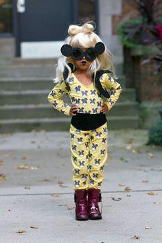 Backplane - Little Monsters lady gaga kids halloween costume