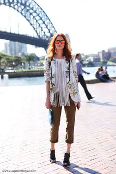 Taylor Tomasi Hill at MBFWA Sydney Australian Fashion Week 2012