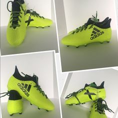 76f790611 adidas Shoes | New Adidas Soccer Cleats Yellow X 17.4 Fg J Sz 1.5 | Color:  Yellow | Size: 1.5b