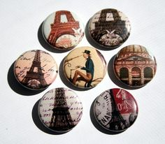 vintage buttons..