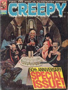Creepy Magazine #50 - via the-manchester-morgue.blogspot