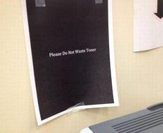 Neulich am Drucker...