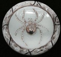 vintage Spider Button