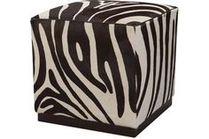 As seen in the 2014 #clshowhouse: Lee Industries: L9259-00 Leather Ottoman