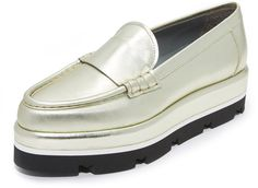 Pin for Later: This Spice Girls-Approved Trend Is Totally Making a Comeback  MSGM Platform Loafers ($555)
