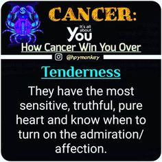 How The Sign Win You Over: #itsallaboutyou🐒 #zodiac  #aries #taurus #gemini #cancer #leo #virgo #libra #scorpio #sagittarius #capricorn #aquarius #pisces #zodiacs #zodiaco #zodiacsigns #signs #zodiacsign #zodiacfacts #zodiacposts #horoscopes #horoscope #facts #starsign #trending #tagafriend #win #over #fact Cancer Astrology, Zodiac Cancer, Cancer Horoscope, Capricorn, Cancer Quotes, Cancer Facts, Cancerian, Zodiac Posts, Moonchild