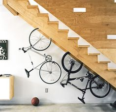 For those who stay in the city with very limited space, the creative challenge of finding that perfect spot inside your home to park your bicycle is prettycommon. To help you out, here's a collect...