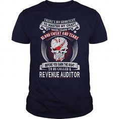 Awesome Tee REVENUE AUDITOR Shirts & Tees #tee #tshirt #Job #ZodiacTshirt #Profession #Career #auditor