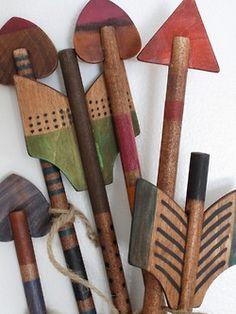 old archery set