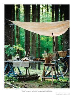I love the idea of setting something like this up for the morning after the wedding... something calming and wonderful to wake up to!