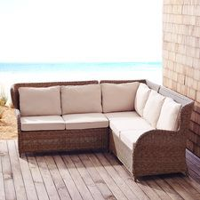 Build Your Own Capella Island Sectional - Sand