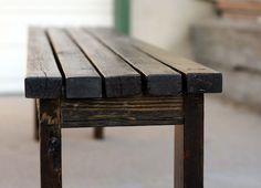 Simple DIY bench.  Love it.