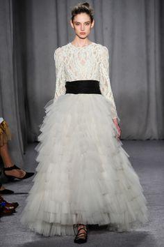 Bridal Inspiration Autumn Winter 2014-15 Marchesa - New York Fashion Week (BridesMagazine.co.uk)