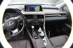 2016 Lexus RX350 Interior Noble Brown Sapele Wood 14