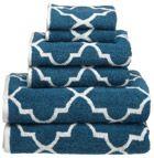 turquoise towel