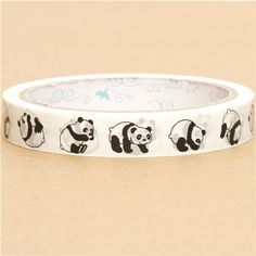cute Sticky Tape with pandas kawaii 2