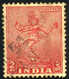 Image detail for -The Nataraja Stamp for 2 Annas
