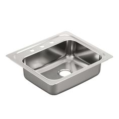 $96 at Wayfair.  20 Gauge Stainless.  Shop Wayfair for Kitchen Sinks to match every style and budget. Enjoy Free Shipping on most stuff, even big stuff.