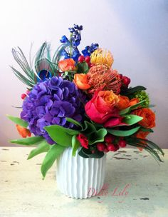 Flavorful and Vibrant flowers!