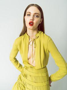 Smile: Lindsey Wixson in Harper's Bazaar Mexico February 2017 by Daniel Matallana