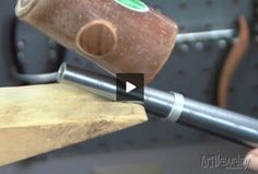 Learn how to make a simple band ring--Art Jewelry magazine