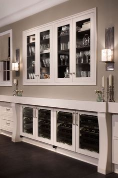 Home bars and butler 39 s pantries on pinterest butler pantry wet bars and bar carts - Bar built into wall ...
