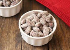 """Low Carb """"Puppy Chow"""" Almonds 