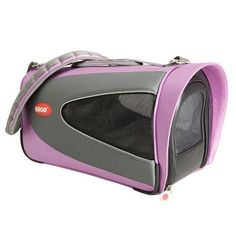 "Teafco Argo Petascope Pet Carrier Size: Small (9.25"" H x 10"" W x 18"" L), Color: Pink"
