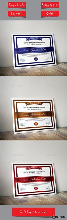 Certificates templates for pages 10 mac os x gfxtra graphicriver certificate 13948779 yelopaper Images