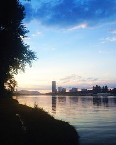 Sunshine after the rain!  Sonntage auf der Donauinsel sindhellip After, Scouting, Travel Inspiration, New York Skyline, Vacation Places, Alone, Croatia, Island