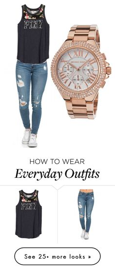 """Everyday outfit."" by hfischer13 on Polyvore featuring Michael Kors"