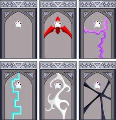 Spooky Crystal Gem Temple doors by Steven Universe Theories, Steven Universe Oc, Steven Universe Wallpaper, Steven Universe Drawing, Fanart, Steven Universe Pictures, Pearl Steven, Fantasy Art Landscapes, Anime Oc