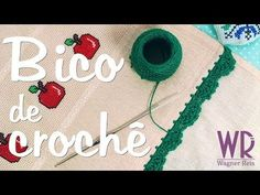Waldineia Santos shared a video Crochet Borders, Crochet Lace, Scrapbooks, Free Pattern, Diy And Crafts, Crochet Necklace, Make It Yourself, Knitting, Youtube
